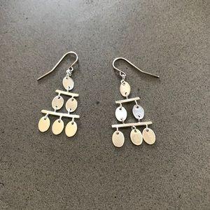 Silver Chandelier Style Earrings!